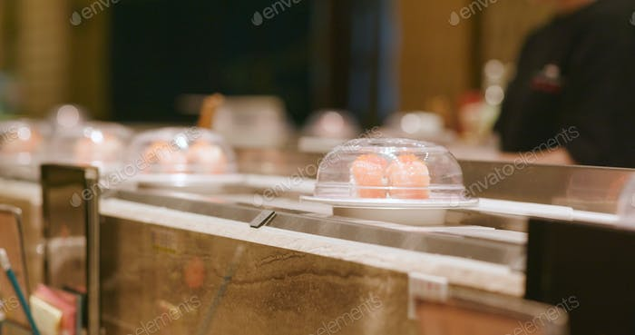 Sushi gehen rund