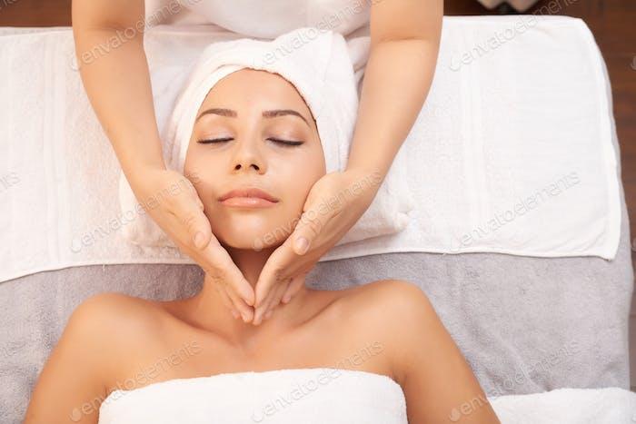 Skincare massage