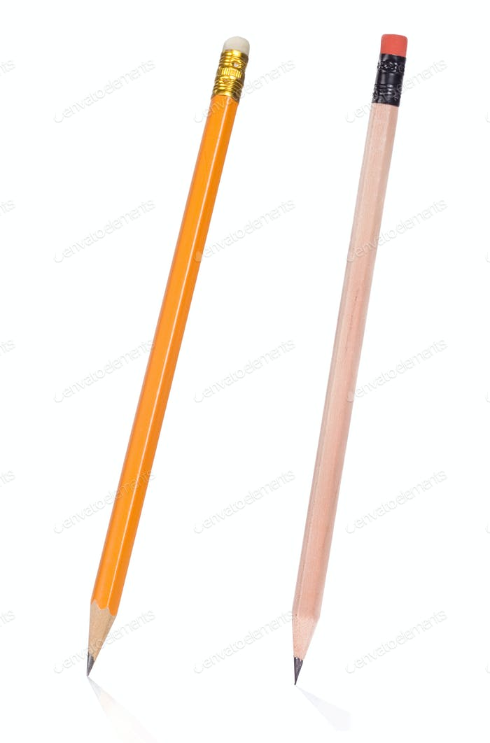 isolated pencil