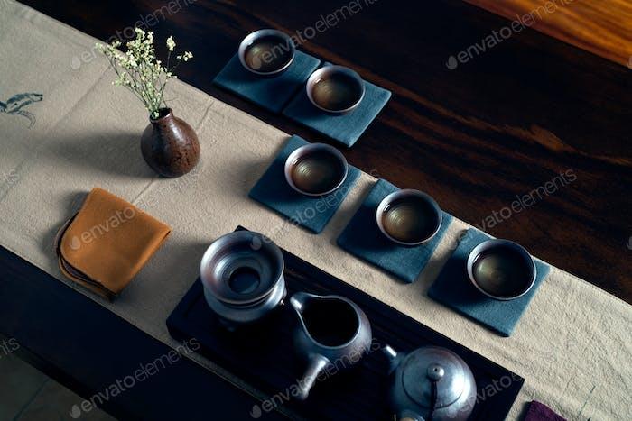 Chinesische Teezeremonie