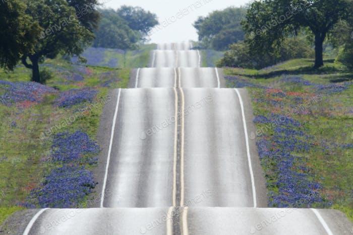 Landschaftlich reizvolle Straße