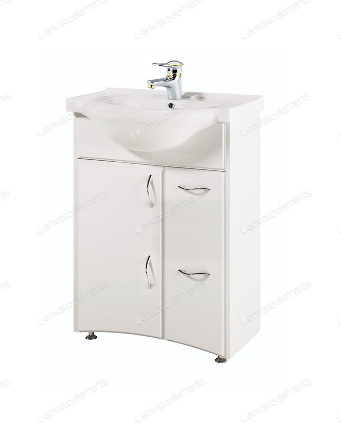 Modern ceramic white washroom
