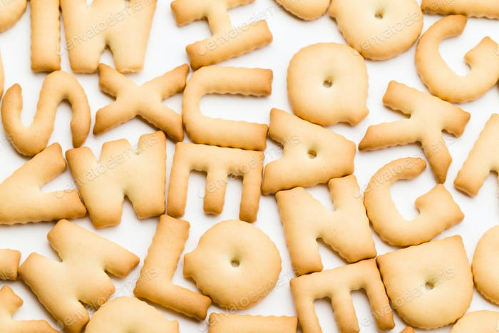 Group of text biscuit