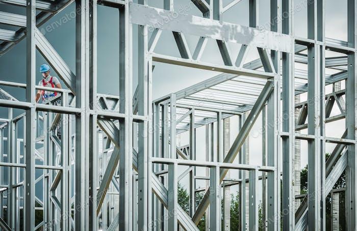 Stahlhaus Rahmenentwicklung