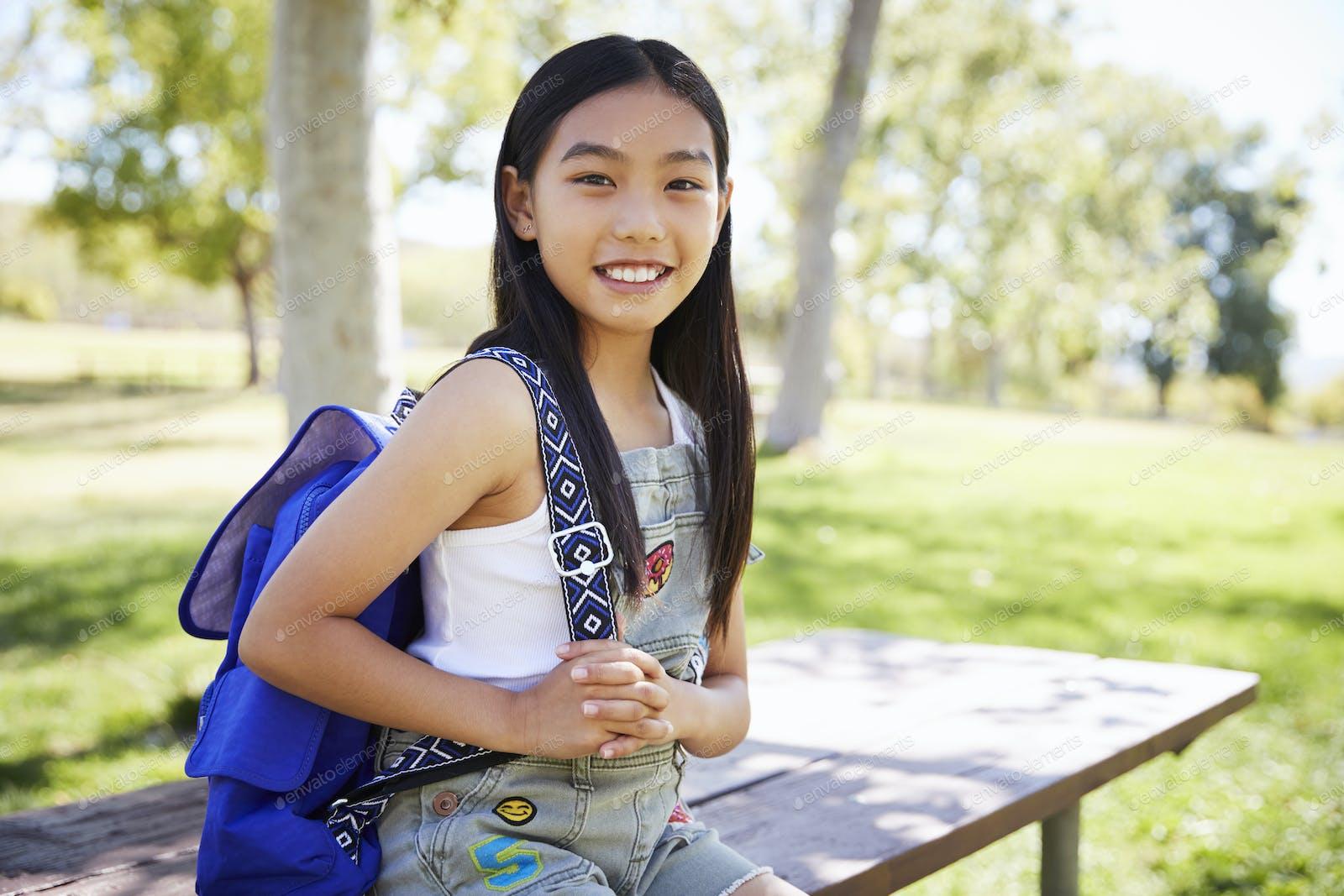 schoolgirl teen asian girl