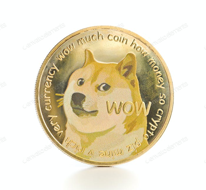 The golden dogecoin.