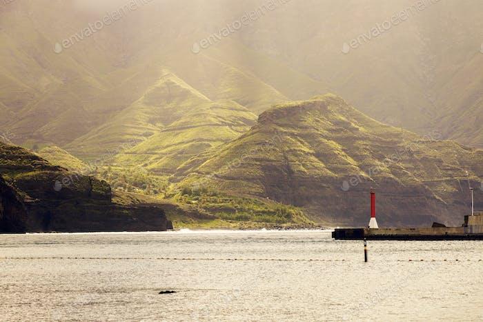 Landscape of Puerto de las Nieves