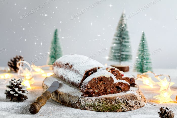Christmas Dresdnen Stollen Chocolate