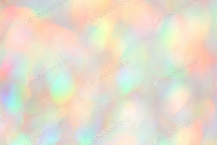 Blurred Holographic Background in Neon Colors.