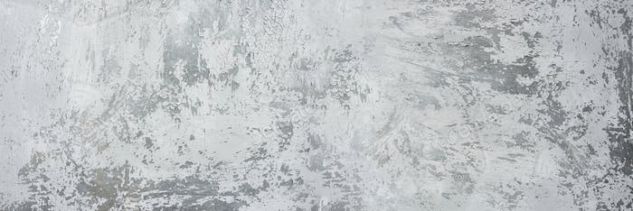 Texture on gray with silver background.