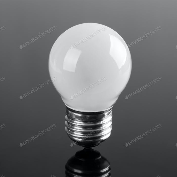 Small opaque bulb