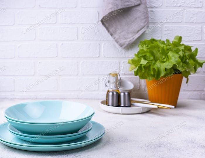 Modern kitchen in Scandinavian style