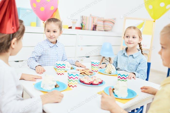 Celebration in kindergarten