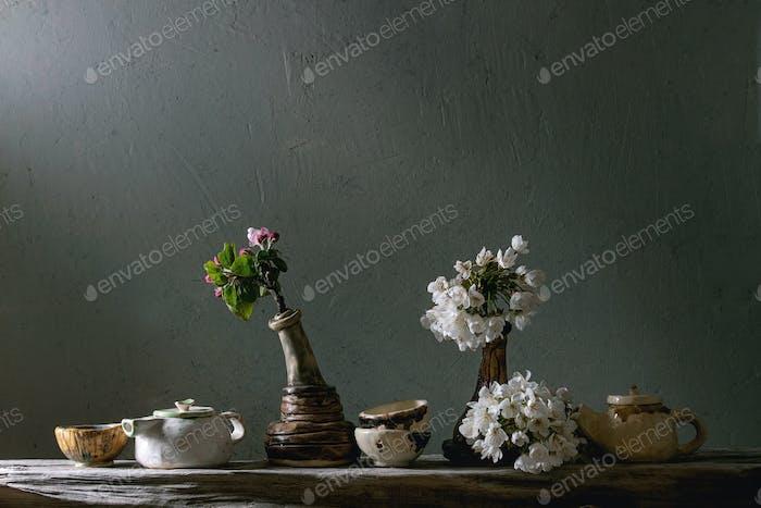Craft ceramic teapots