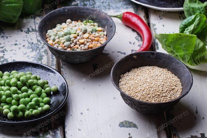 Quinoa Burger Ingredients