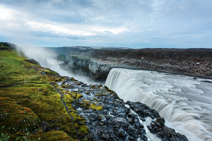 Most powerful waterfall Dettifoss