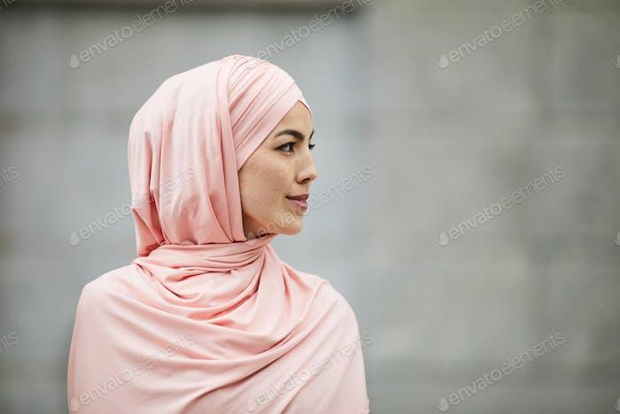 Woman of Islamic faith