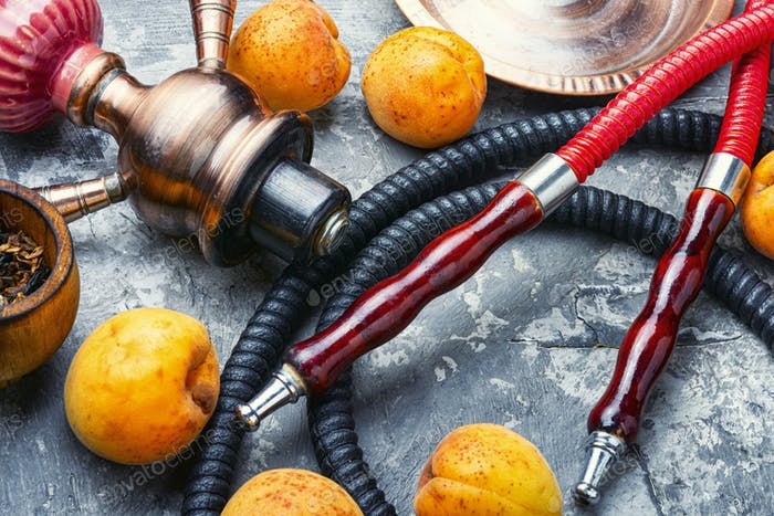 Arabia shisha with apricots tobacco