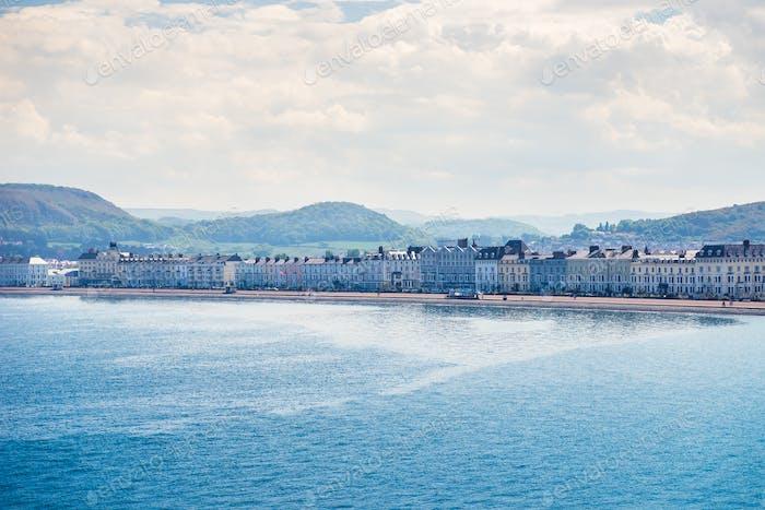 Llandudno Sea Front in North Wales, UK