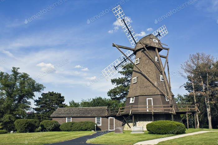 Windmill in Elmhurst