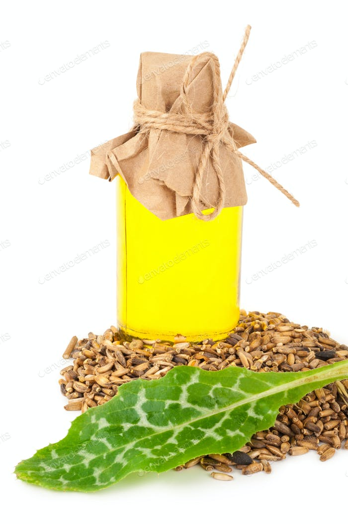 Oil of milk thistle
