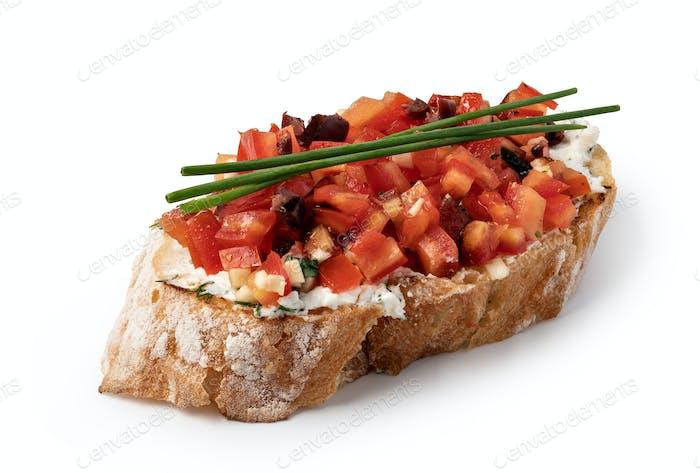 Traditional spanish Bruschetta