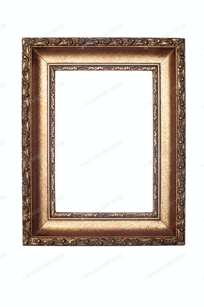 Decorative frame isolated on white