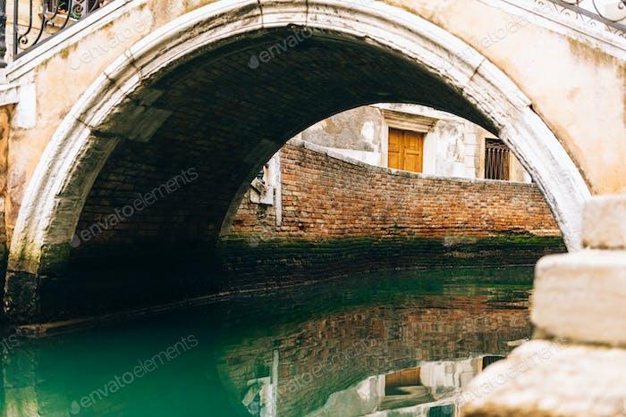 die alten Venedig Straßen Italiens
