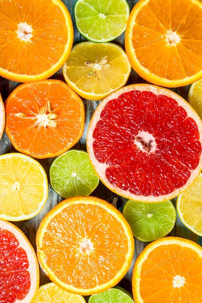 Fresh bright citrus.