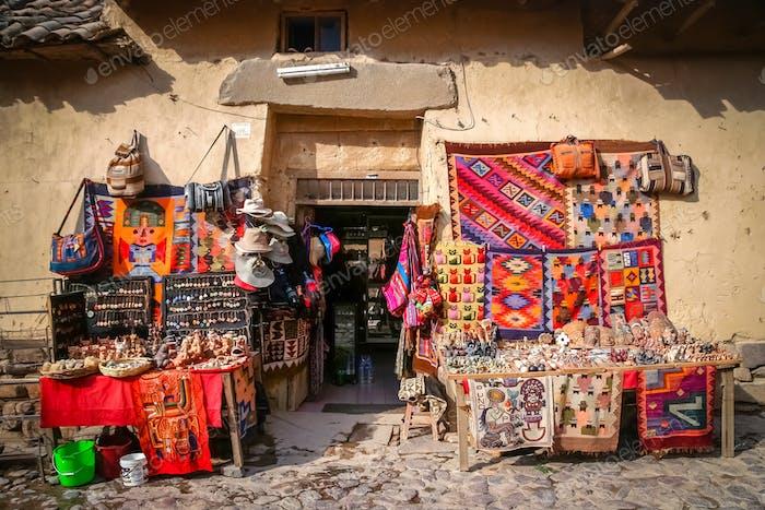 Souvenirladen in Peru