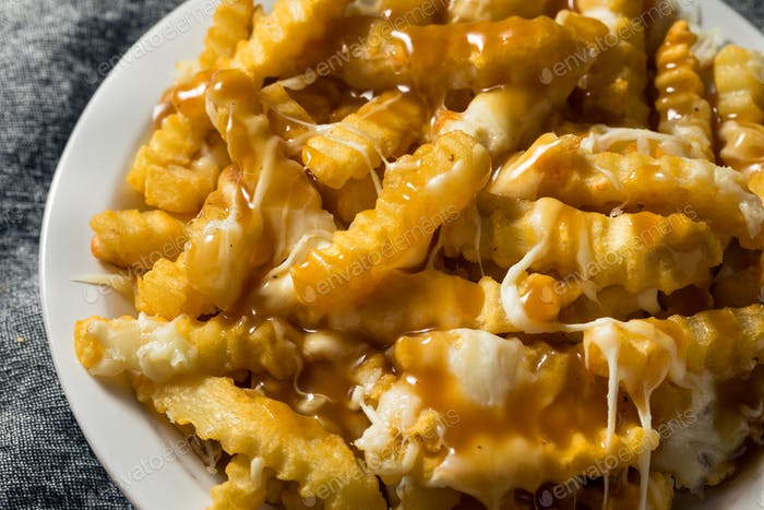 Homemade Jersey Disco French Fries