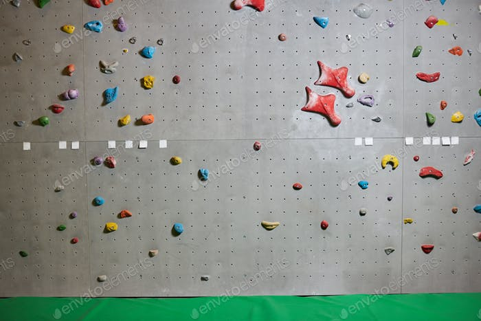 Wall for climbing