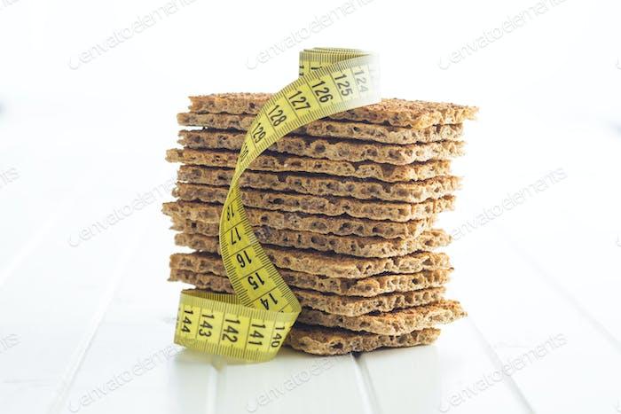 Thumbnail for The healthy crispbread.