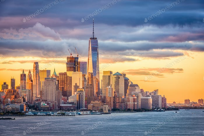 New York City Dawn
