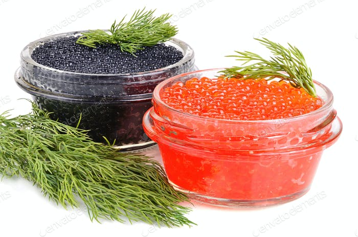 Caviar in cans