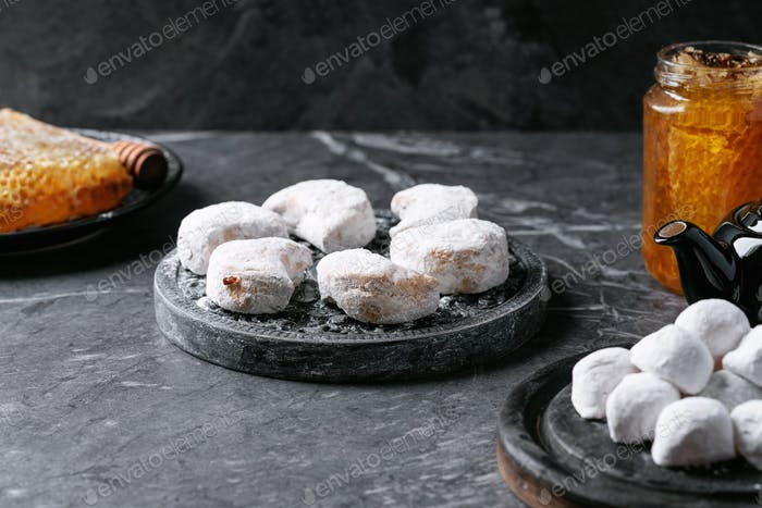 Variety of traditional Greek sweets