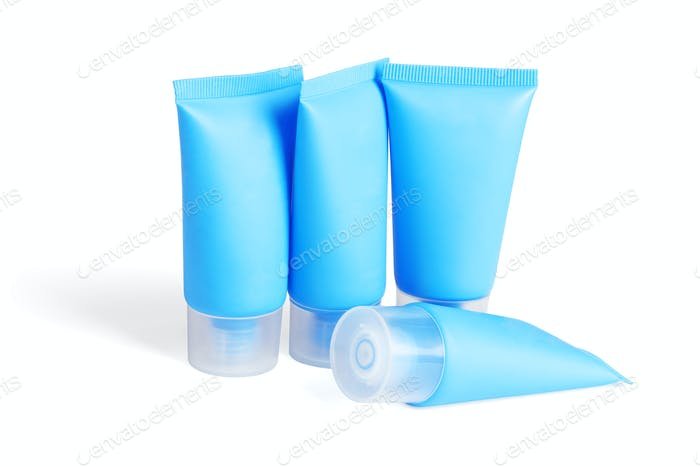 Blank Plastic Tubes for Body Care Products