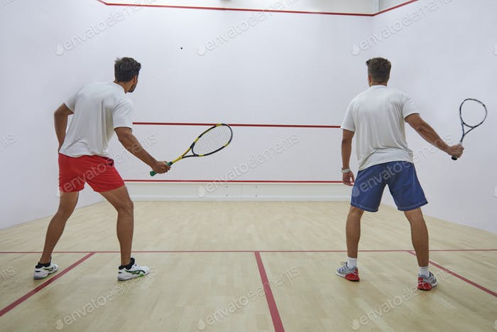 Squash demands great focus and endurance