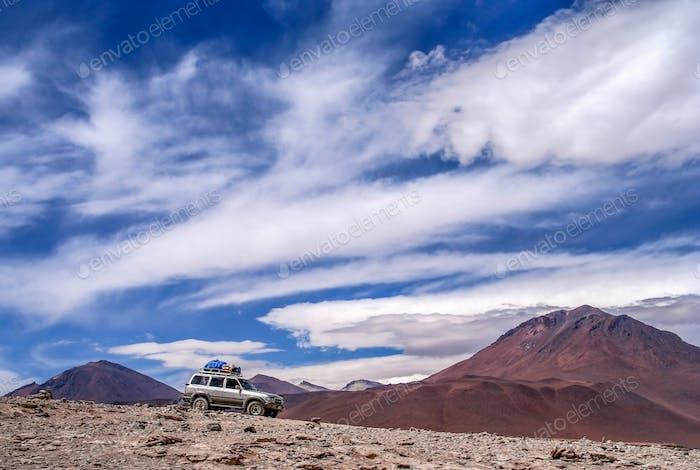 4x4 exploration of Altiplano