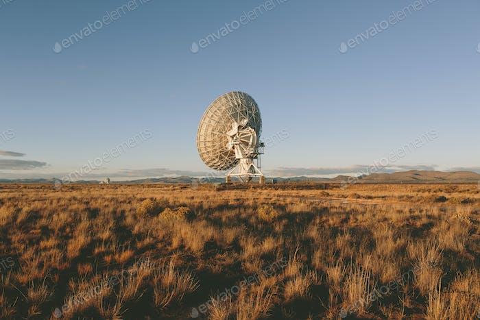 Antenas de radio grandes, también conocido como The Very Large Array (VLA), utilizadas para buscar extraterrestre