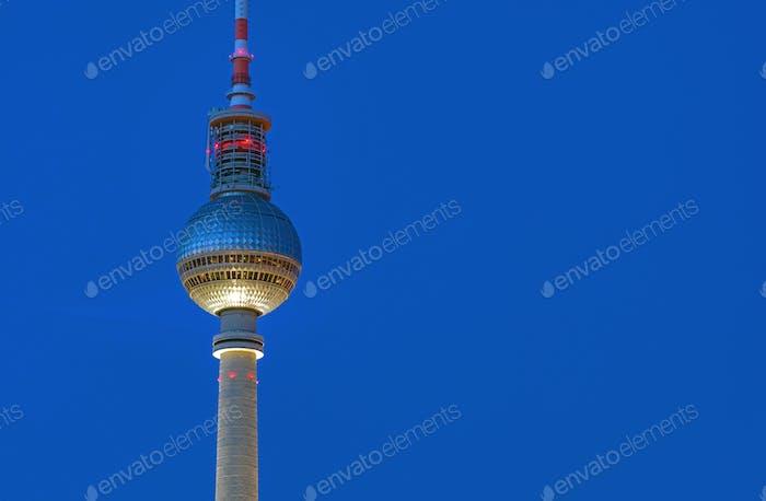 Detalle de la Torre de TV en Berlín