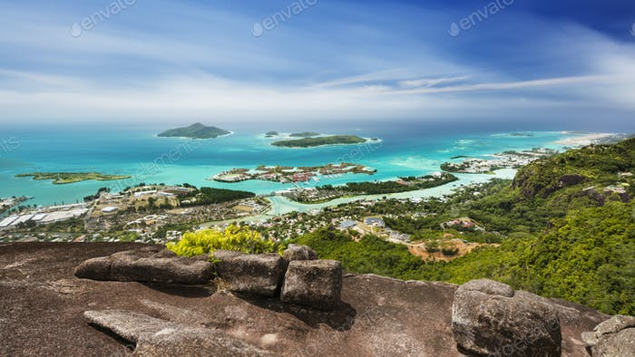 Mahe Long Exposure View, Seychelles