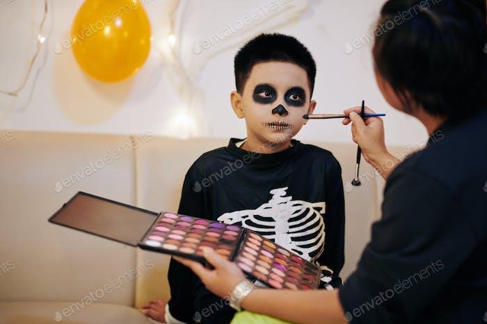Scary Halloween look