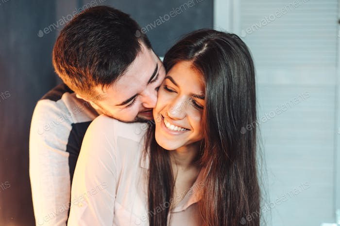 man woman to spend time together