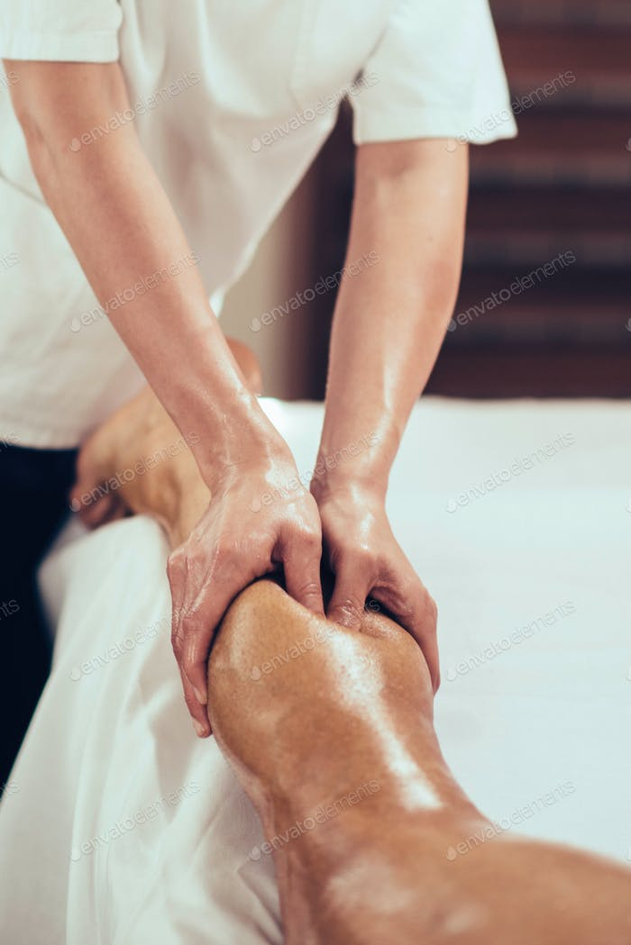 Sportmassage, Massage Beine