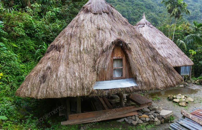 Hut in Philippines