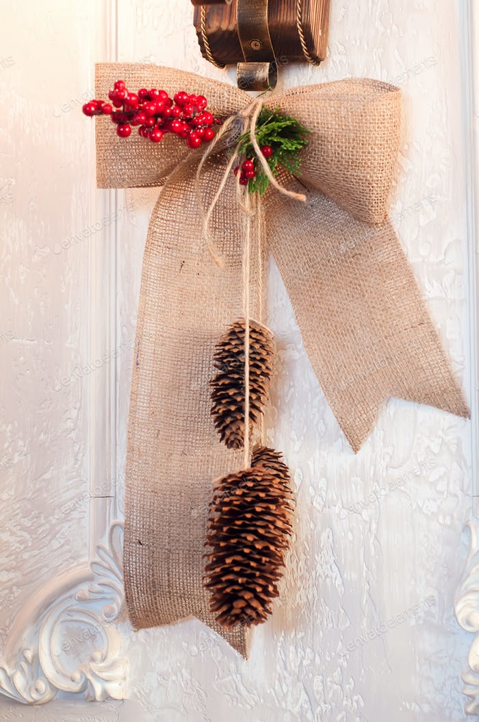 Christmas pendant cones