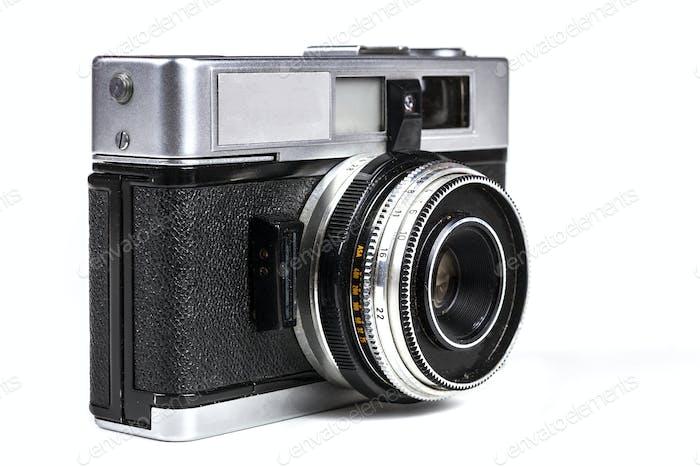 Silver Film Camera