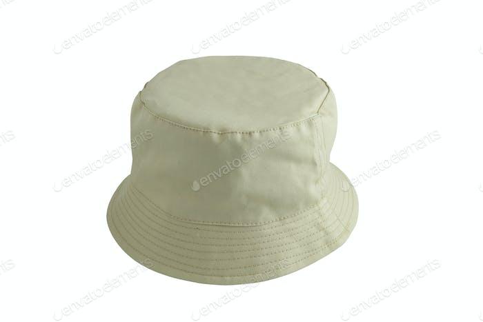 Beige fishing hat