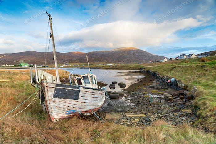 Fishing Boat at Leverburgh